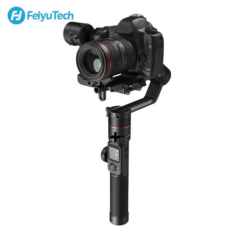 FeiyuTech AK2000 3-Axis Camera Gimbal Estabilizador DSLR Tripé com Anel de Foco para Canon Sony Panasonic 5D GH5 Nikon 5D 2.8 KG