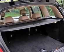 Стайлинга автомобилей Грузовой Обложка щит безопасности задний багажник Чемодан полке Обложка Черный для Mercedes-Benz GLK X204 2008 -2015