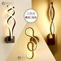 15W LED Wand Lampe Moderne Kreative Schlafzimmer Neben Wand Licht Indoor Wohnzimmer Esszimmer Flur Beleuchtung Dekoration-in Wandleuchten aus Licht & Beleuchtung bei