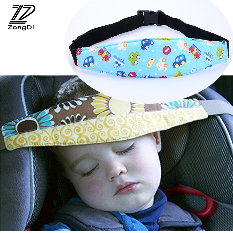 Baby Car Seat Headrest Sleeping Head Support Pad Cover For Mercedes W204 BMW E36 E90 F30 F10 Volvo XC90 Alfa Romeo Audi A6 c5 c6 image