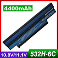 4400mAh laptop black battery For GATEWAY LT2120u LT2122 LT2122u LT2123 For eMachines 350 350-21G16i eM350 NAV50 NAV51