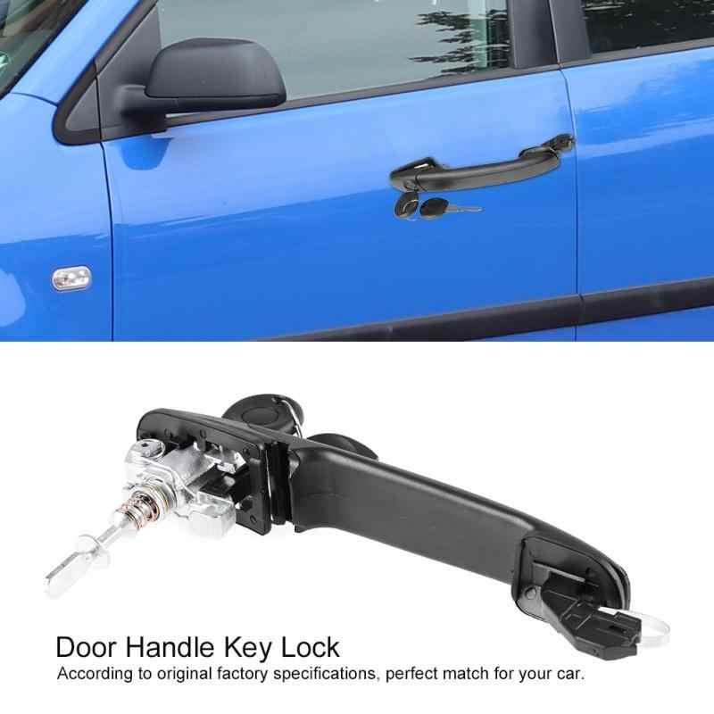 Правая сторона водителя автомобиля Дверная ручка ключ замок с ключами для Ford Galaxy для VW Polo MK4 Sharan сиденья Альгамбра 6N0837207C Новый