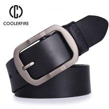 Của nam giới da chính hãng belt designer thắt lưng nam chất lượng cao sang trọng dây đeo nam thắt lưng cho nam giới thời trang cổ điển pin buckle cho jeans(China (Mainland))