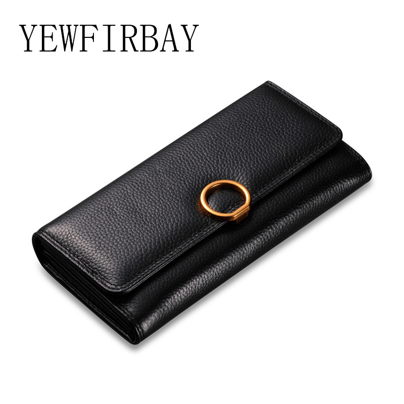Women Wallets 2017 New fashion female cards holders genuine leather wallet coin purses lady long Wallet 2016 fashion new brand women coin purses holders genuine leather small wallets hobos design sac femme female
