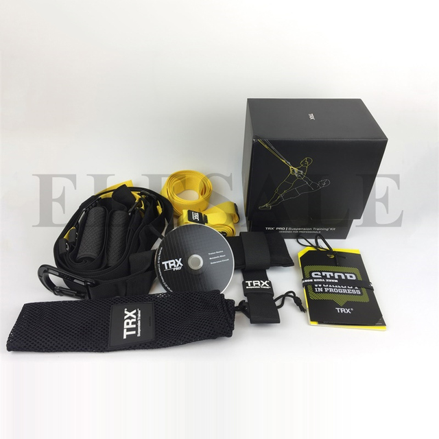 TRX Pro P3 Trainer Bands Sport Belts Training Resistance Straps For Gym Workout Body Weight With LOGO And BOX