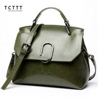 TCTTT High Quality Fashion Female Shoulder Bag Casual Split Leather Crossbody Handbag Latest Style Messenger Bags