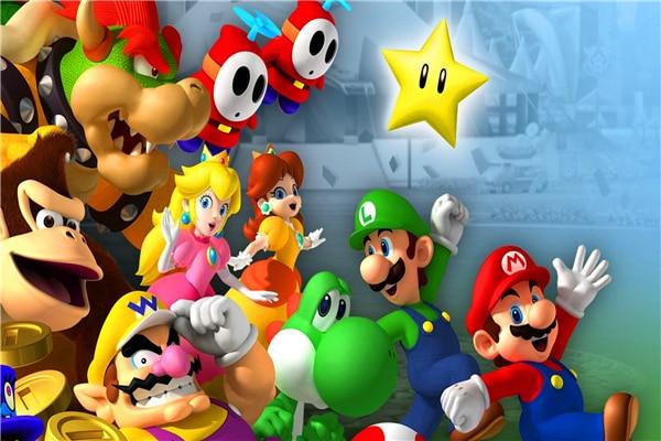 Arte de lienzo personalizado Super Mario cartel Super