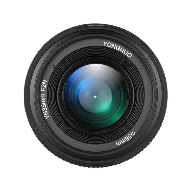 YONGNUO YN35mm F2.0 F2N Lens YN35mm AF/MF Focus Lens for Nikon F Mount D7100 D3200 D3300 D3100 D5100 D90 DSLR Camera YN35mm Lens