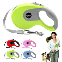 5m Retractable Dog Leash Automatic Extending Walking Lead For Medium Large Dogs Up To 88lbs Tangle