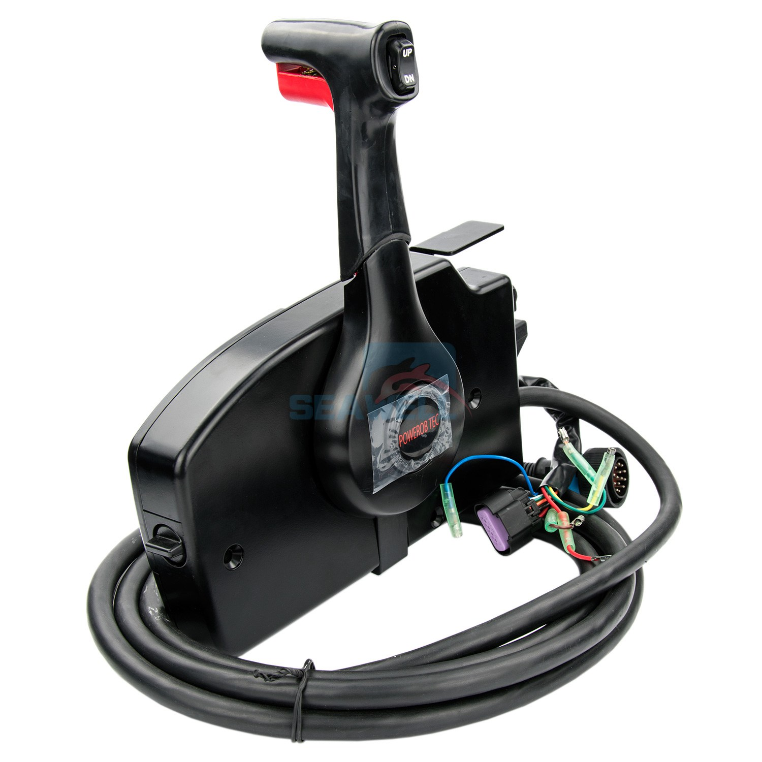 marine outboard remote control box for mercury boat engine with 14pin cable  right hand 881170a13 cable