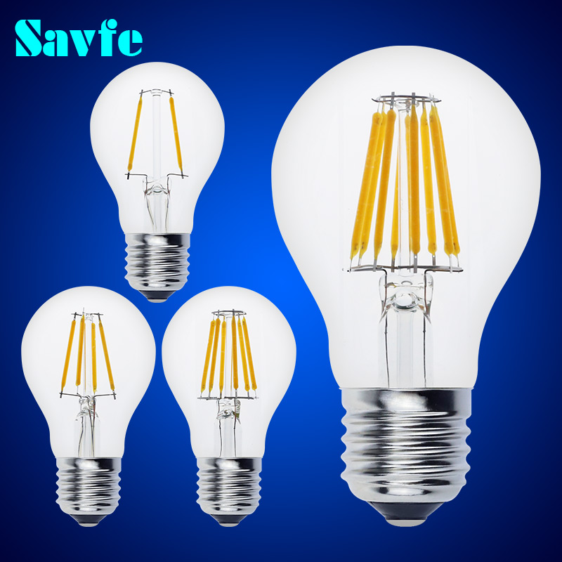 buy 1pcs antique a60 led edison bulb e27 e14 vintage led bulb lamp 220v retro. Black Bedroom Furniture Sets. Home Design Ideas