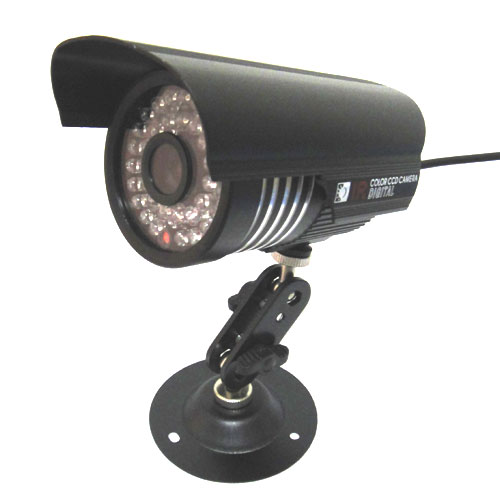 1/3 700TVL SONY CCD CCTV IR Color Outdoor Security Camera , 6mm 1080p HD lens free shipping new 1 3 sony ccd hd 1200tvl waterproof outdoor security camera 2 pcs array led ir 80 meter cctv camera
