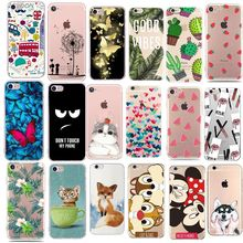 For Fundas iPhone 5S 5 S SE Case Cover Apple iPhone 6 6S 7 8 Plus X XS Cute Minnie Silicone Phone Cover Case For iphone 7 capas(China)