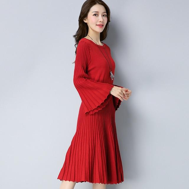 2017 new Winter knitting dresses 011d00fa18b8