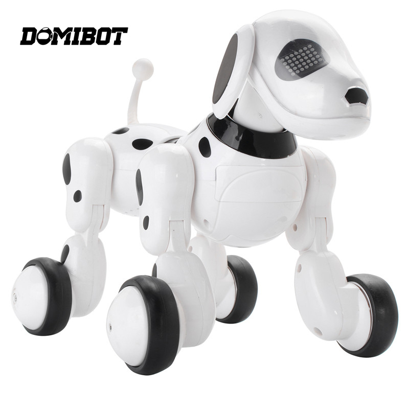 Hot Sale Domibot Wireless Remote Control Smart Robot Dog Sing Dance Walking Talking Dialogue Educational Toys Gift for Children