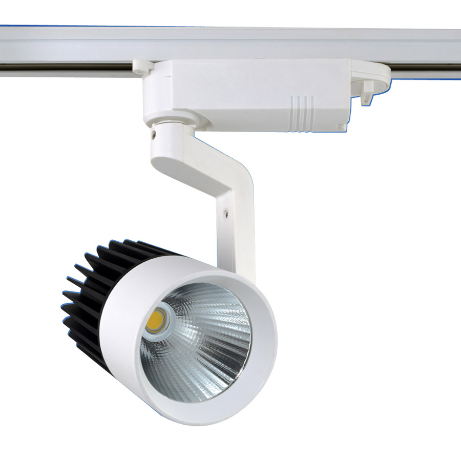 Commercial Retail Light Fixtures: 2015 LED Lights Wholesale Retail 15W COB Led Track Light