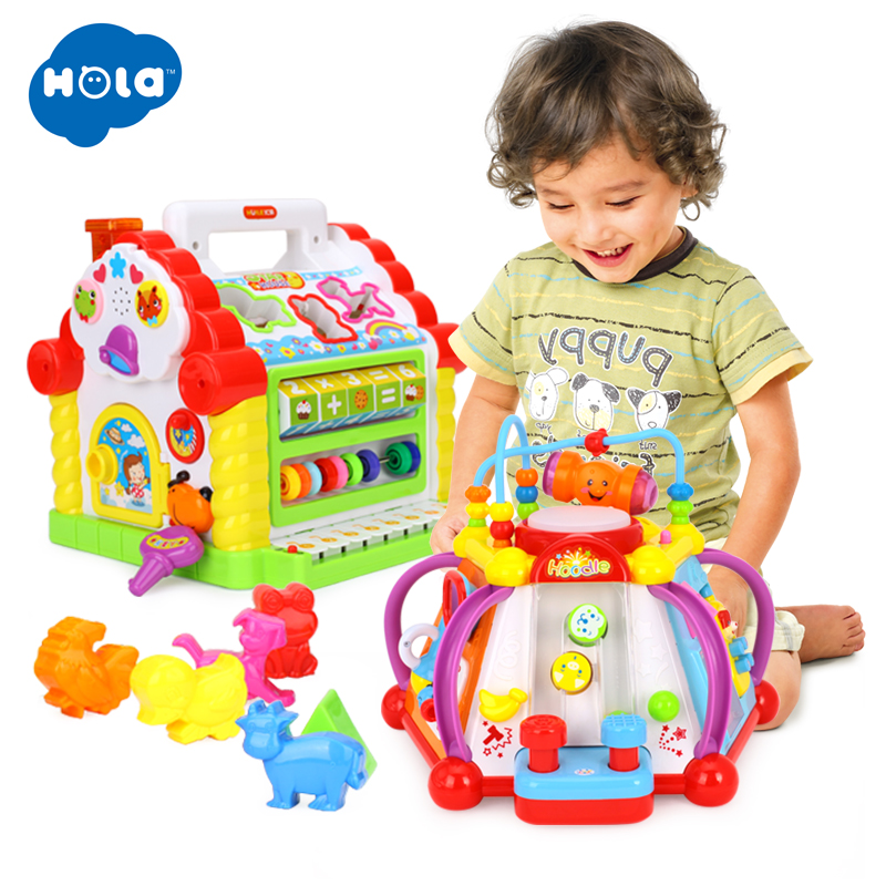 Wholesale Toys Multifunctional Musical Toys Baby Fun House & Happy Small World PuzzleWholesale Toys Multifunctional Musical Toys Baby Fun House & Happy Small World Puzzle