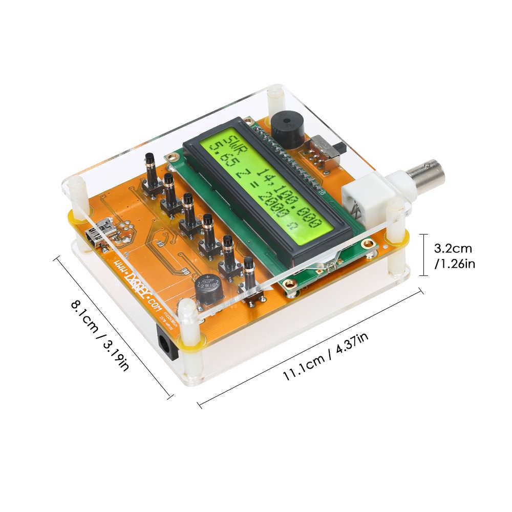 جهاز رقمي قصير هوائي محلل متر فاحص لراديو هام Q9 1 ~ 60 متر لاختبار مقاومة موجة دائمة السعة MR100