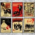 Классический фильм водохранилище собаки ретро постер домашний декор крафт-игра постер Рисование настенные наклейки