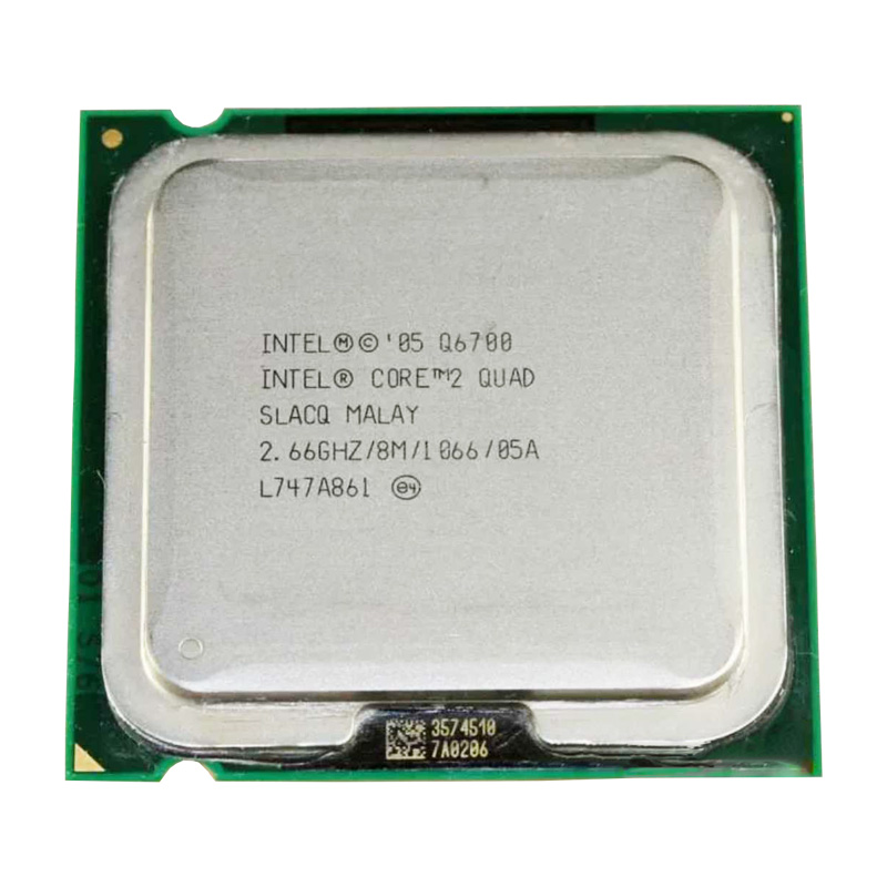 <font><b>Intel</b></font> Core 2 Quad <font><b>Q6700</b></font> <font><b>q6700</b></font> 2.66Ghz/ 8M /1066GHz Socket 775 CPU Processor image
