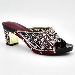 Новейший дизайн; женские модельные туфли; свадебные туфли без застежки с открытым носком; туфли-лодочки со стразами; женская обувь;