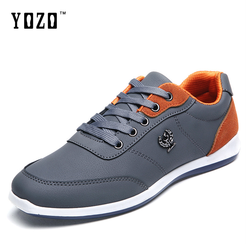 Men Pu Leather Shoes Classic Style Male Outdoor Casual Shoes Soft Comfortable Walking Flats Spring Autumn Shoes male casual shoes soft footwear classic men working shoes flats good quality outdoor walking shoes aa20135