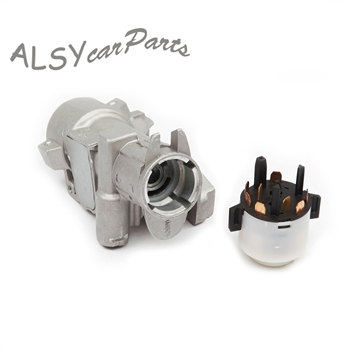 YIMIAOMO Steering Lock Housing 4B0 905 851B Ignition-/Starter Switch 4B0 905 849 For Audi A4 A6 VW Jetta MK4 Golf MK4 Seat Skoda