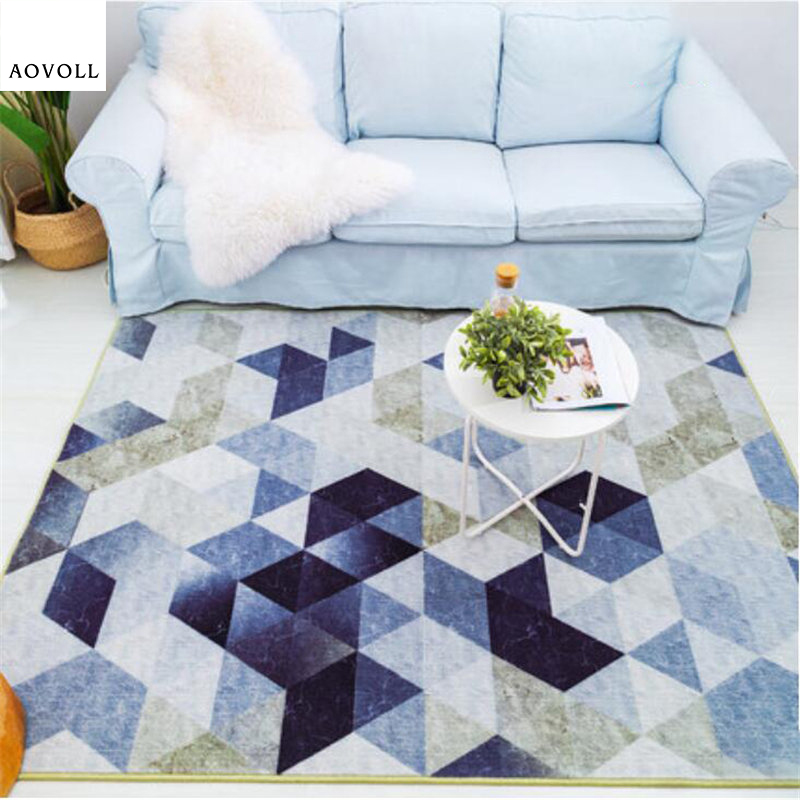 AOVOLL 2018 New Nylon Thicker Soft Carpets For Living Room Bedroom Kid Room Rugs Home Carpet Floor Door Mat Fashion Area Rug Mat