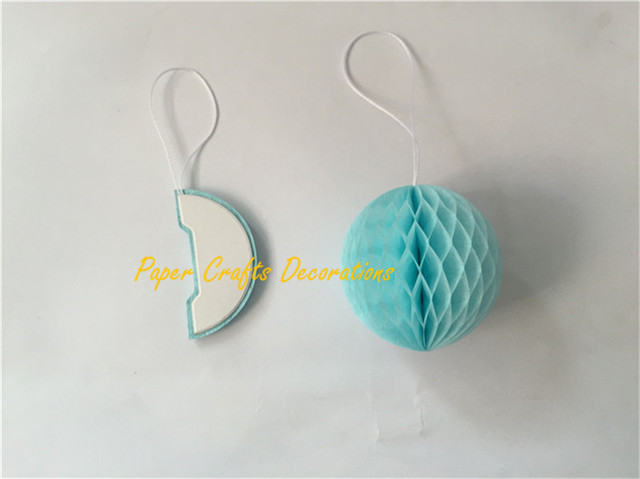 50pcslot 2inch5cm Baby Shower Decorations Mini Round Tissue Paper