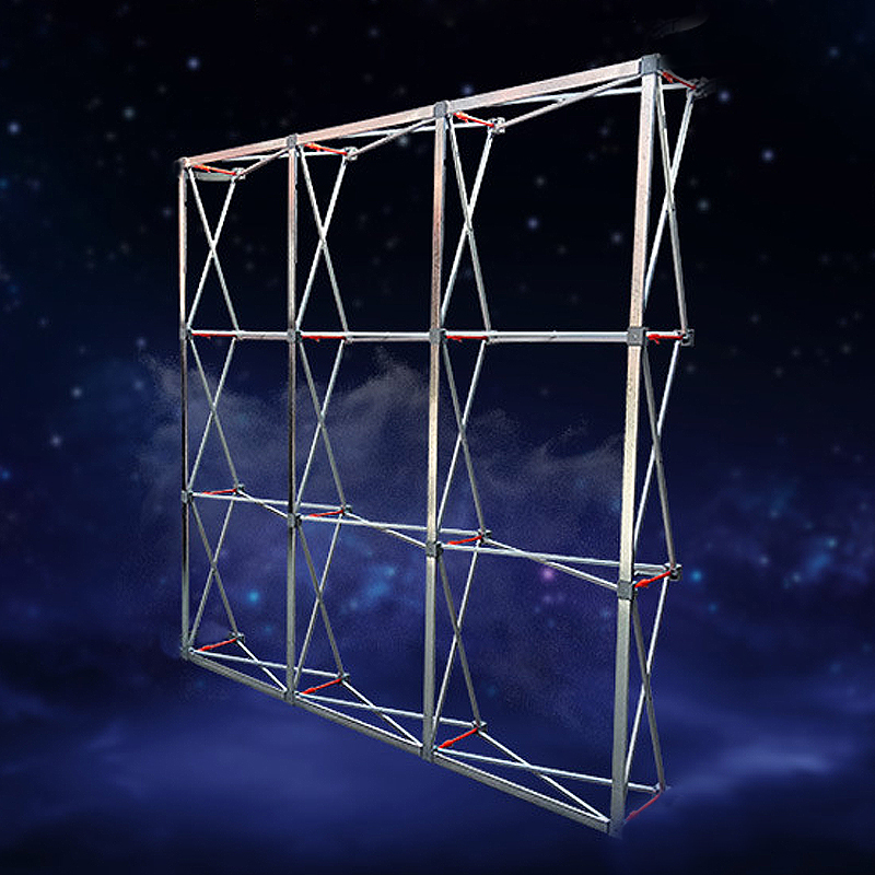 Exhibition Stand Frame : Aluminum flower wall folding stand frame for wedding backdrops