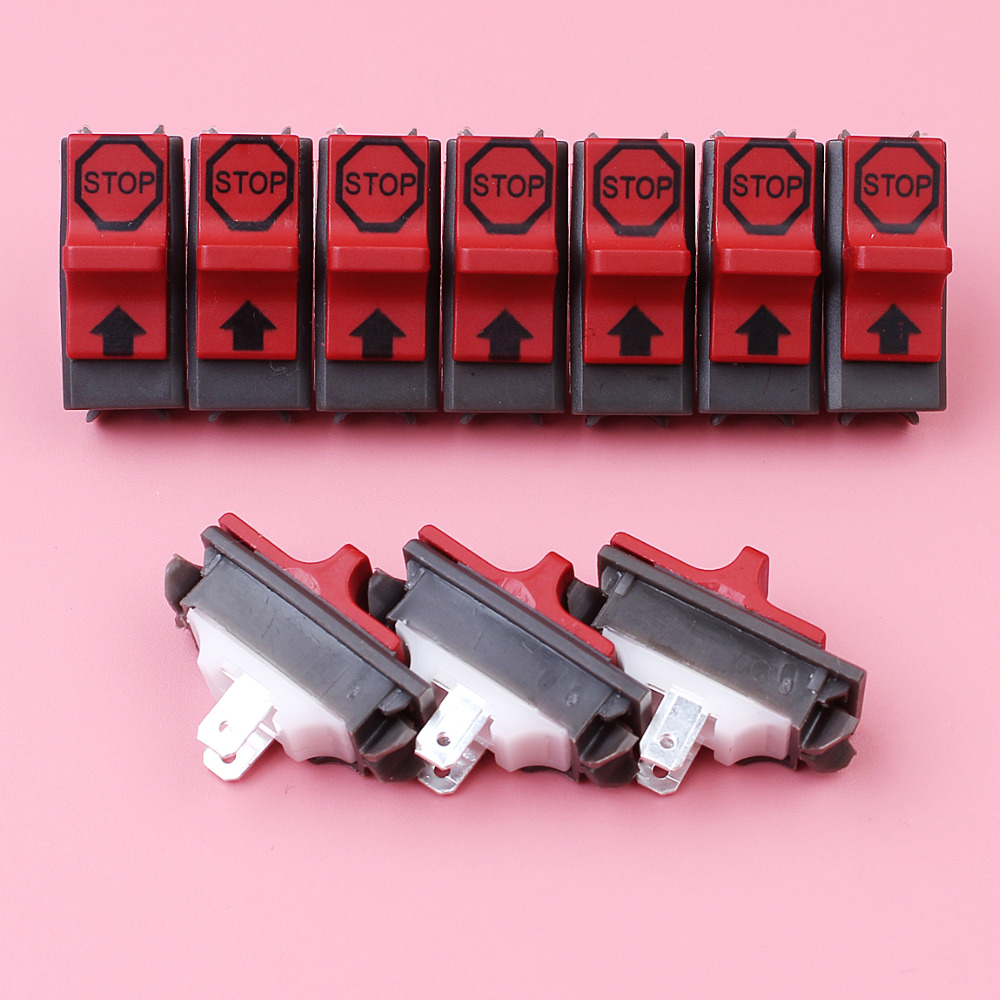 10pcs/lot On Off Stop Switch For Husqvarna 44 362 365 371 372 336 339XP Chainsaw Spare Replacement Part