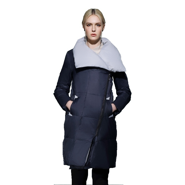 women's fashion down jacket women for winter 2018 long loose down coat winter cothes for women 3166
