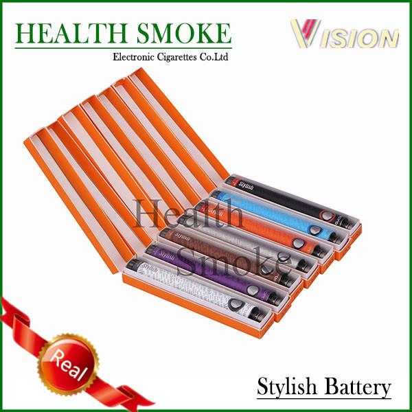 10 unids Original visión con estilo 1300 mah voltaje Variable cigarrillo electrónico eGo 510 hilo de la batería con estilo de la batería envío gratis