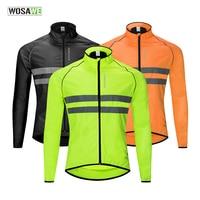 WOSAWE Fahrrad Bike Ciclismo Windjacke Hohe Sichtbarkeit Jacke Jersey Ultraleicht Wasser Abweisend Winddicht Radfahren Jacke|Fahrrad Jacken|Sport und Unterhaltung -