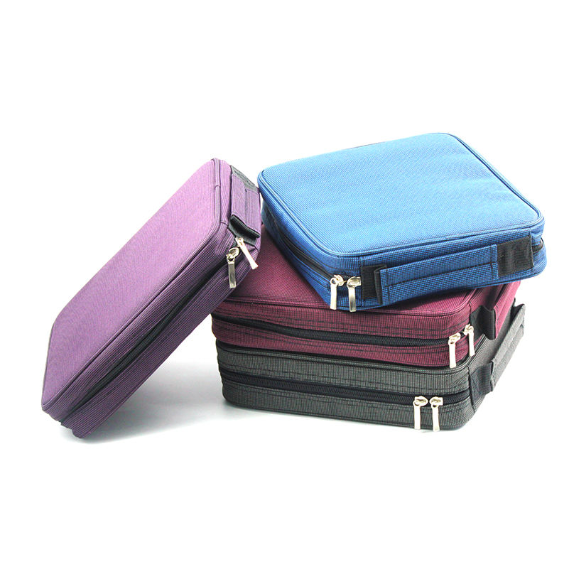 Large Capacity Pencil Case Canvas 120 Slots 4 Layers School Pencil Bag Art Marker Pen Holder Coloring Pencils Organizer 2 3 4 layers high quality large capacity canvas pencil case drawing pens pencil bag portable pencil box school penalties 04856