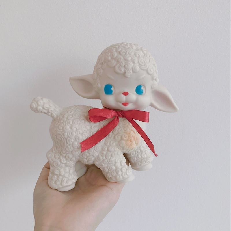 Mini Newborns Toys Doll Kawaii Sheep Toys Boys Girls Lovely Animals Educational Toy Kids ...