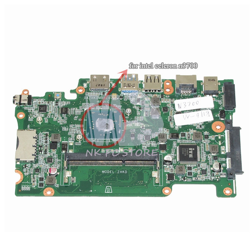 Notebook PC Main Board For Acer tm b116 m Motherboard System Board DDR3 DAZHKDMB6C0