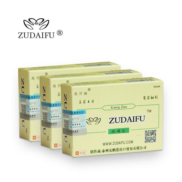 ZUDAIFU YIGANERJING Sulfur Soap Seborrhea Eczema Anti Fungus Soaps + Skin Conditions Acne Psoriasis Treatment ZUDAIFU Cream 1