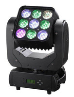 New professional 9pcs 12w Full color RGBW 4IN1 led lamp moving head Matrix light for stage ,party ,KTV ,disco ,DJ