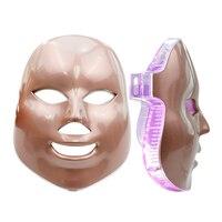 LED Facial Mask 7 Color Photon Face Mask Therapy Anti Wrinkle Machine Skin Rejuvenation Removal Spot Skin Care Beauty Spa Device