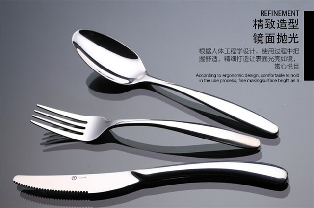 Costa Dinnerware Set flatware Set Cutlery Steak Dinner Knife Table ...
