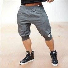 Бодибилдинг! Профессиональный фитнес-Бренд мужской шорты с Золотом и электростанция тренировки шорты хлопок модно тощий акула