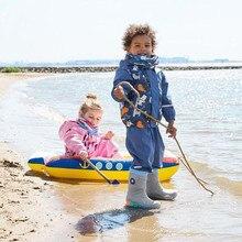 85-115cm Waterproof Rain Coat Poncho Jackets Outdoors Rainsuit raincoat For Children kids Chubasqueros