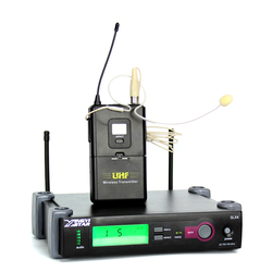 Professional SLX24 Wireless Headset Microphone Headworn WCE6O Earhook Mic For Karaoke Stage Singer Cordless Bodypack Transmitter