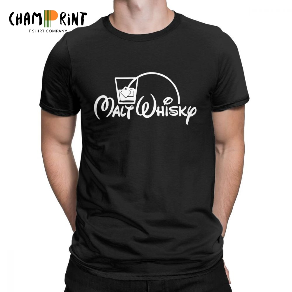 711d79b9 Detail Feedback Questions about Malt Whiskey T Shirt Men Corn Whisky Drink  Liquor Bar Alcohol Short Sleeve Funny Tees O Neck 100% Cotton Tops T Shirt  Plus ...