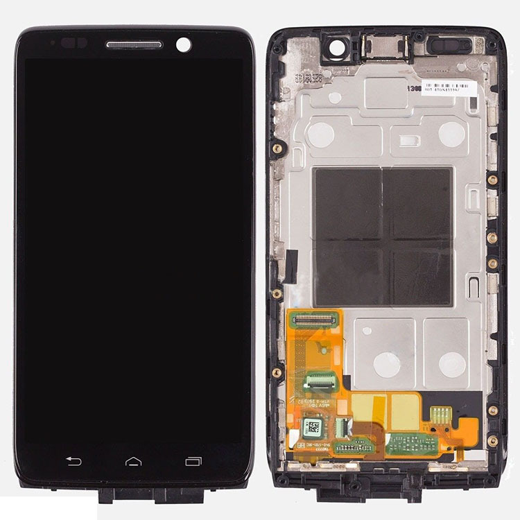 ФОТО Black For Motorola Droid Mini XT1030 LCD Screen Display Digitizer Touch Glass Assembly+Frame High Quality