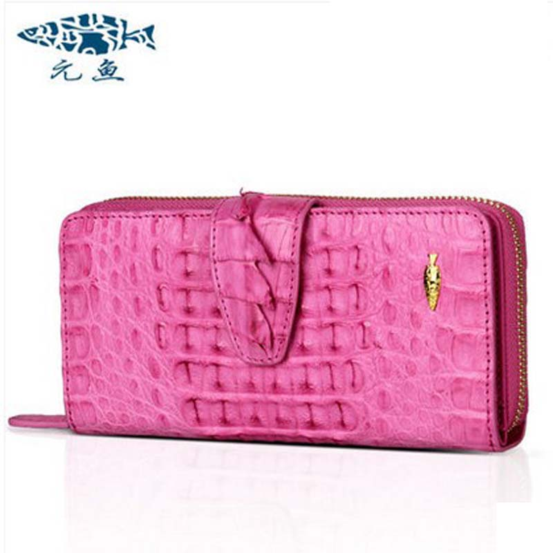 yuanyu real Crocodile women clutches new leather zipper day clutch real  crocodile bag long women purse hand grasp yuanyu new crocodile wallet alligatorreal leather women bag real crocodile leather women purse women clutches