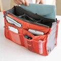 13 Colores maquillaje organizador bolsa de Hombres de Las Mujeres Ocasionales de viaje bolsas de almacenamiento de bolsa de cosméticos multifuncional bag in bag maquillaje bolso