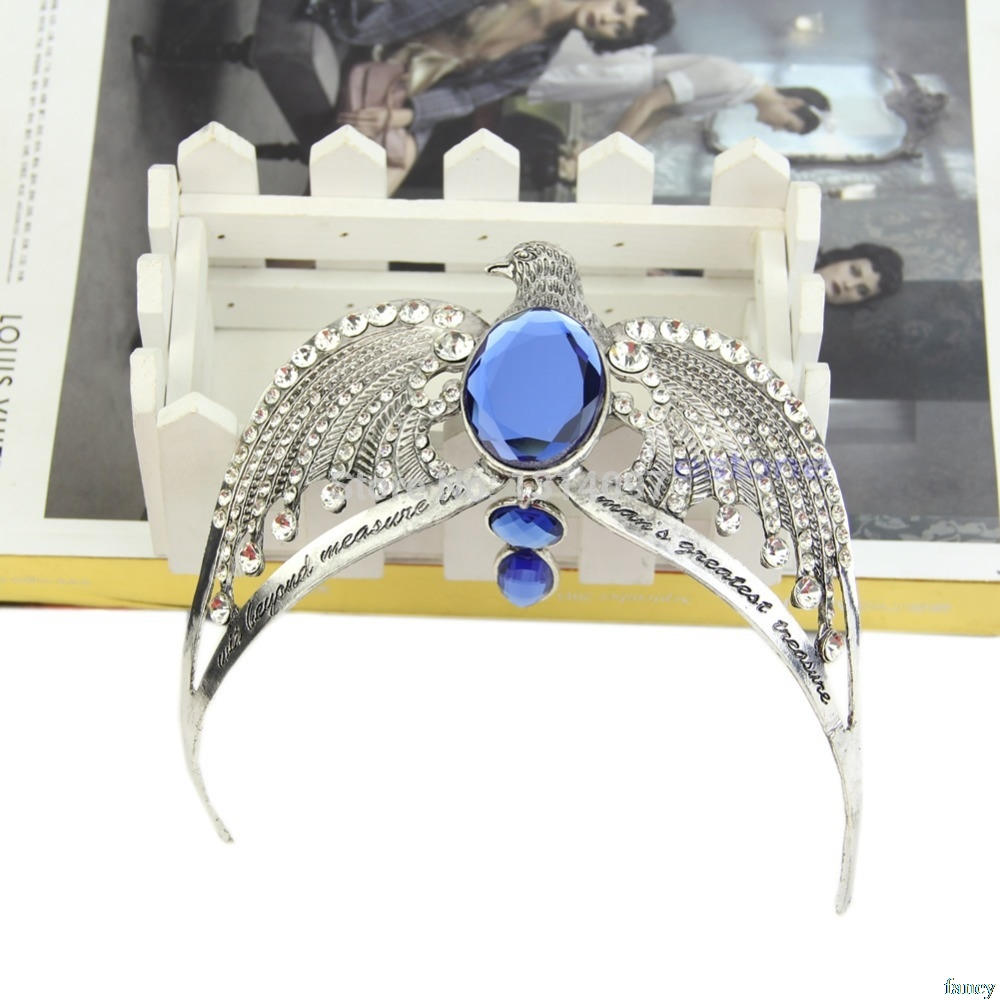 Ravenclaw Lost Diadem Tiara Crown Horcrux Deathly Hallows Prom Witc Drop Ship #