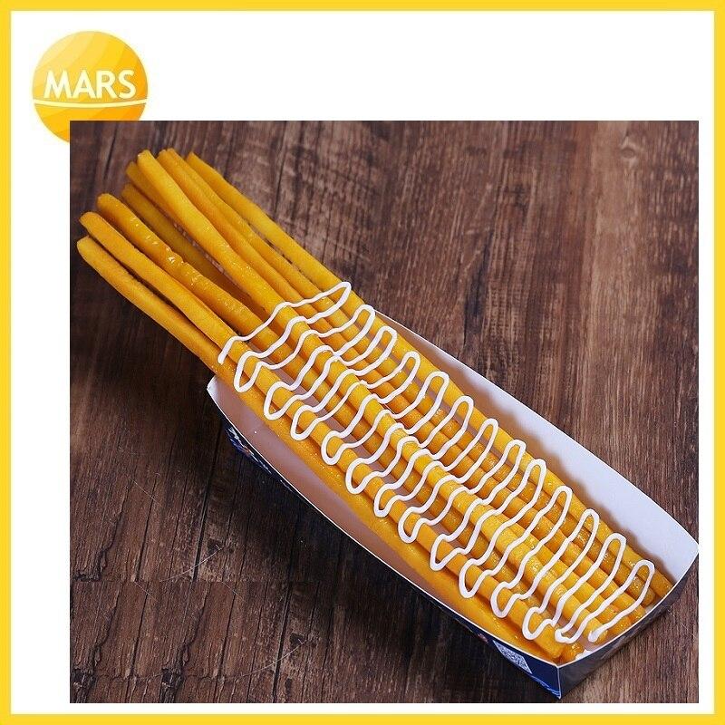 Длинный картофель фри модель поддельные самые длинные картошка фри модель формы ног длинные чипы образец закуски муляжи пищевых продуктов ...